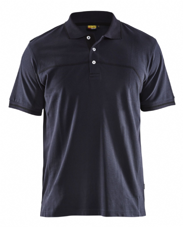 Blaklader 3389 Pique Polo Shirt (Dark Navy / Black)